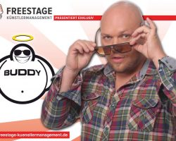 FREESTAGE übernimmt Management & Booking für BUDDY